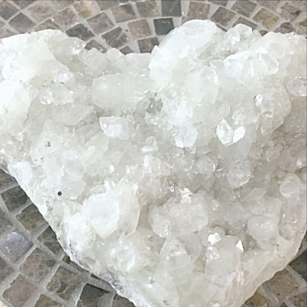 Apophyllite Zeolite Cluster Crystal For Sale New Earth Gifts