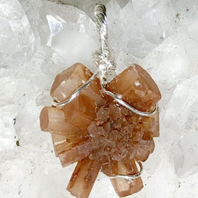 Aragonite Star Pendant - New Earth Gifts
