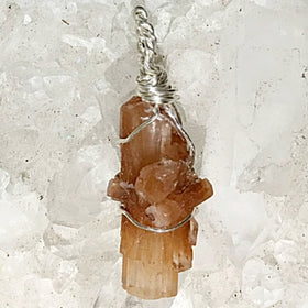Aragonite Crystal Pendant - New Earth Gifts