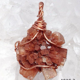 Aragonite Star Sputnick Pendant -New Earth Gifts