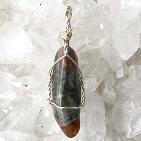 Super Seven Wire Wrapped Pendant-New Earth Gifts