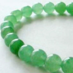 Aventurine Power Bracelet for Good Luck-10mm | New Earth Gifts