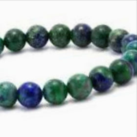 Azurite Power Bracelet for Openness to Change-8mm - New Earth Gifts