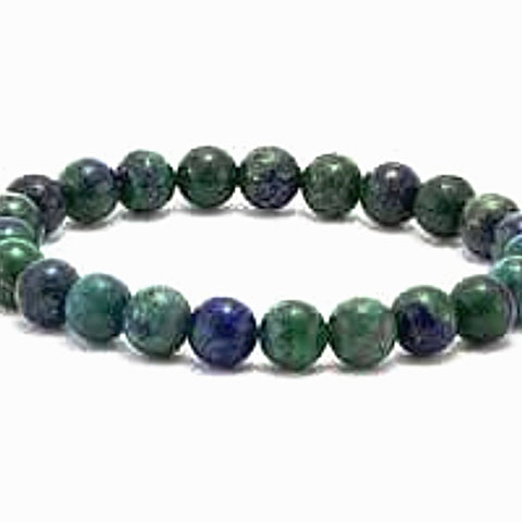 Azurite Power Bracelet for Insight and Vision-6mm - New Earth Gifts