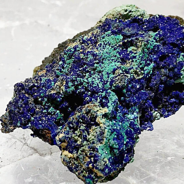 Azurite Malachite Mineral Specimen - New Earth Gifts