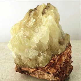 Gold Calcite Specimen for Meditation and Feng Shui Decor