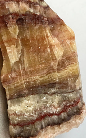 Banded Calcite XL Tri-Colored Specimen - New Earth gifts