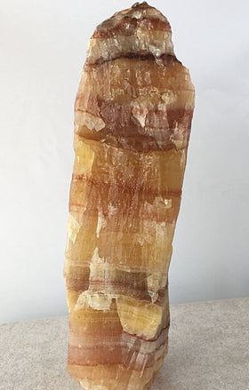 Banded Calcite Tall Specimen - New Earth Gifts