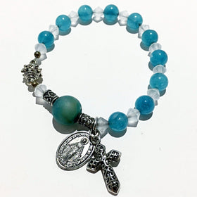 Catholic Rosary Bracelet | New Earth Gifts