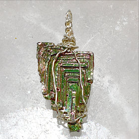 bismuth pendant - new earth gifts