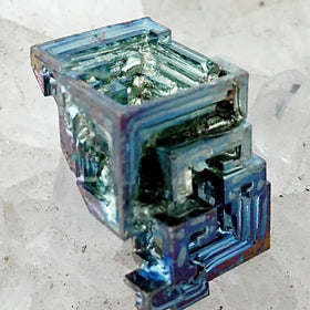 Bismuth Specimen for Geology and Jewelry - New Earth Gifts