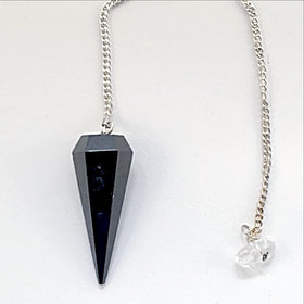Blackstone Faceted Pendulum | New Earth Gifts
