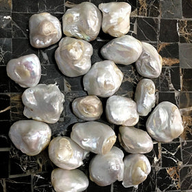 White Rainbow Blister Pearls | New Earth Gifts