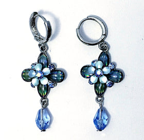 Floral Dangle Earrings - New Earth Gifts