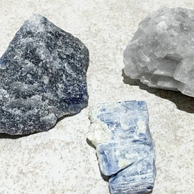 Blue Gemstone Sets For Communication For Sale New Earth Gifts