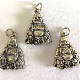Happy Buddha Pendant or Charm - New Earth Gifts
