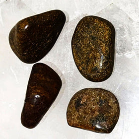 Bronzite 1 pc Tumbled Stone - New Earth Gifts