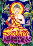 Buddha Batik Tapestry - New Earth Gifts