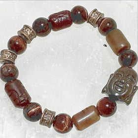 Buddha Gemstone Bracelet - New Earth Gifts