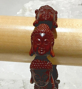 Buddha Bracelet - Many Buddha Faces | New Earth Gifts