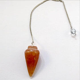 Carnelian Cone Pendulum - New Earth Gifts
