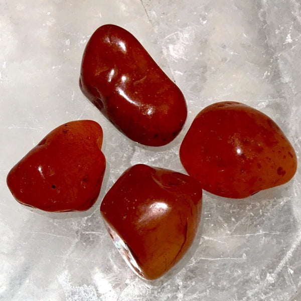 Carnelian Tumbled Stone 1 pc - New Earth Gifts