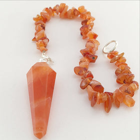 Carnelian Pendulum - New Earth Gifts