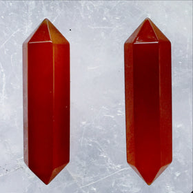 Carnelian Double Terminated Points - Style 4 - New Earth Gifts and Beads