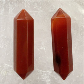 Carnelian Double Terminated Points - Style 5 - New Earth Gifts and Beads