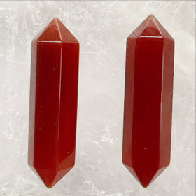 Carnelian Double Terminated Points - Style 6 - New Earth Gifts and Beads