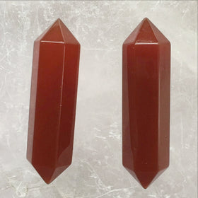 Carnelian Double Terminated Points - Style 7 - New Earth Gifts and Beads