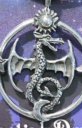 Celestial Pewter Pendant-Celestial Dragon - New Earth Gifts