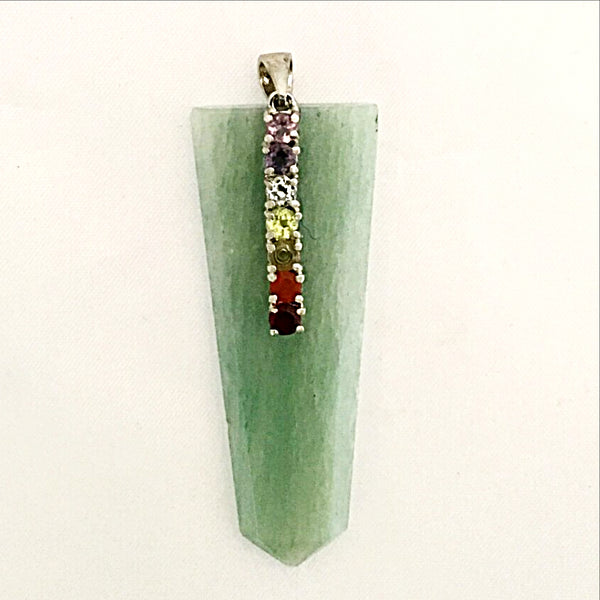 Aventurine Chakra Gemstone Pendant - New Earth Gifts