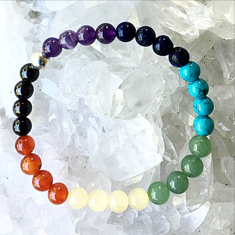 Chakra Gemstone Bracelet - Custom Made-New Earth Gifts