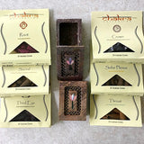 Chakra Incense Cones with Holder - New Earth Gifts