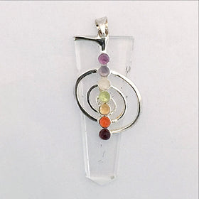 Quartz Chakra Pendant - New Earth Gifts