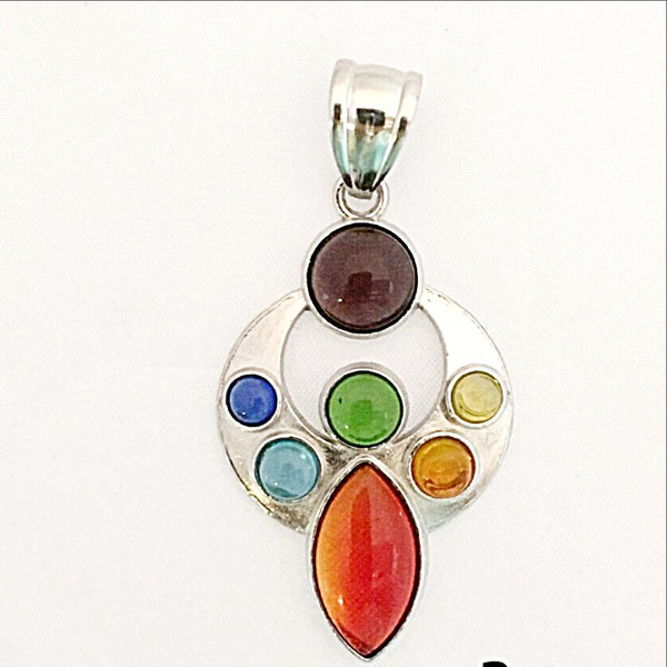 Chakra Abstract Pendant - New Earth Gifts