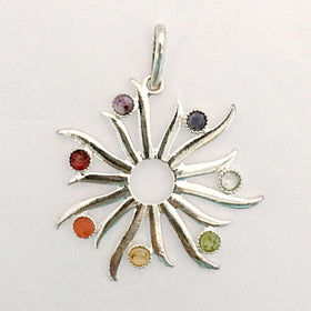 Chakra Sun Pendant - New Earth Gifts