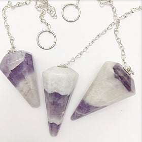 Amethyst Faceted Pendulum - New Earth Gifts
