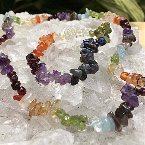 Chakra Choker 18 Inches with Free Chakra Bracelet - New Earth Gifts