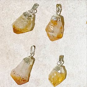 citrine pendants - new earth gifts