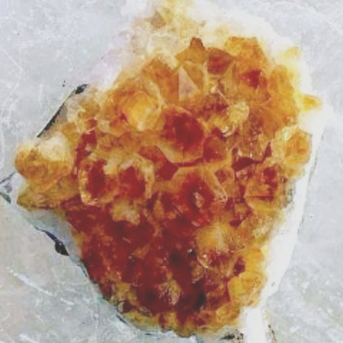 Citrine Druse Cluster With Beautiful Crystals For Sale New Earth Gifts