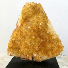 Citrine Druse Large Cluster With A Rare Form For Sale New Earth Gifts