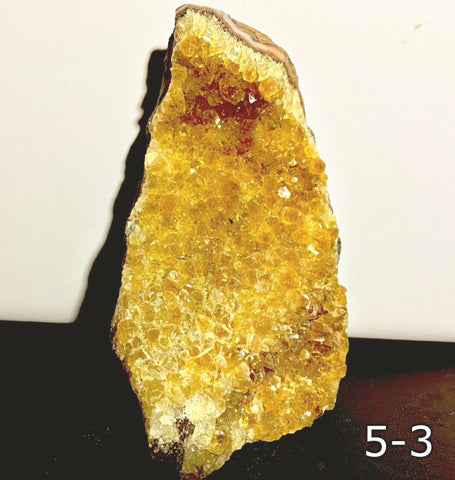 Citrine Druse Cut Base Naturally Beautiful - New Earth Gifts