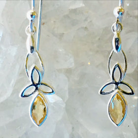Citrine Earrings - New Earth Gifts