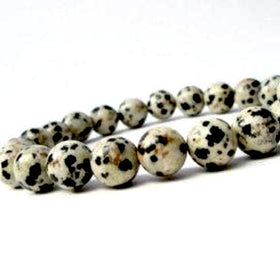 Dalmatian Jasper Power Bracelet for Nurturing and Inner Child Work-6mm - New Earth Gifts