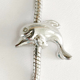 Dolphin Large Hole Nature Charms | New Earth Gifts