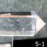 Double Terminated Quartz Crystal Wand - New Earth Gifts