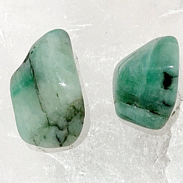 Emerald 1 Pc Tumbled Stones | New Earth Gifts