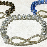 Infinity Symbol Beaded Bracelet - New Earth Gifts